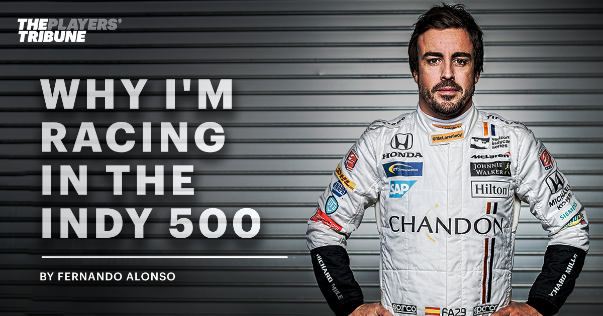 Why I'm Racing in the Indy 500