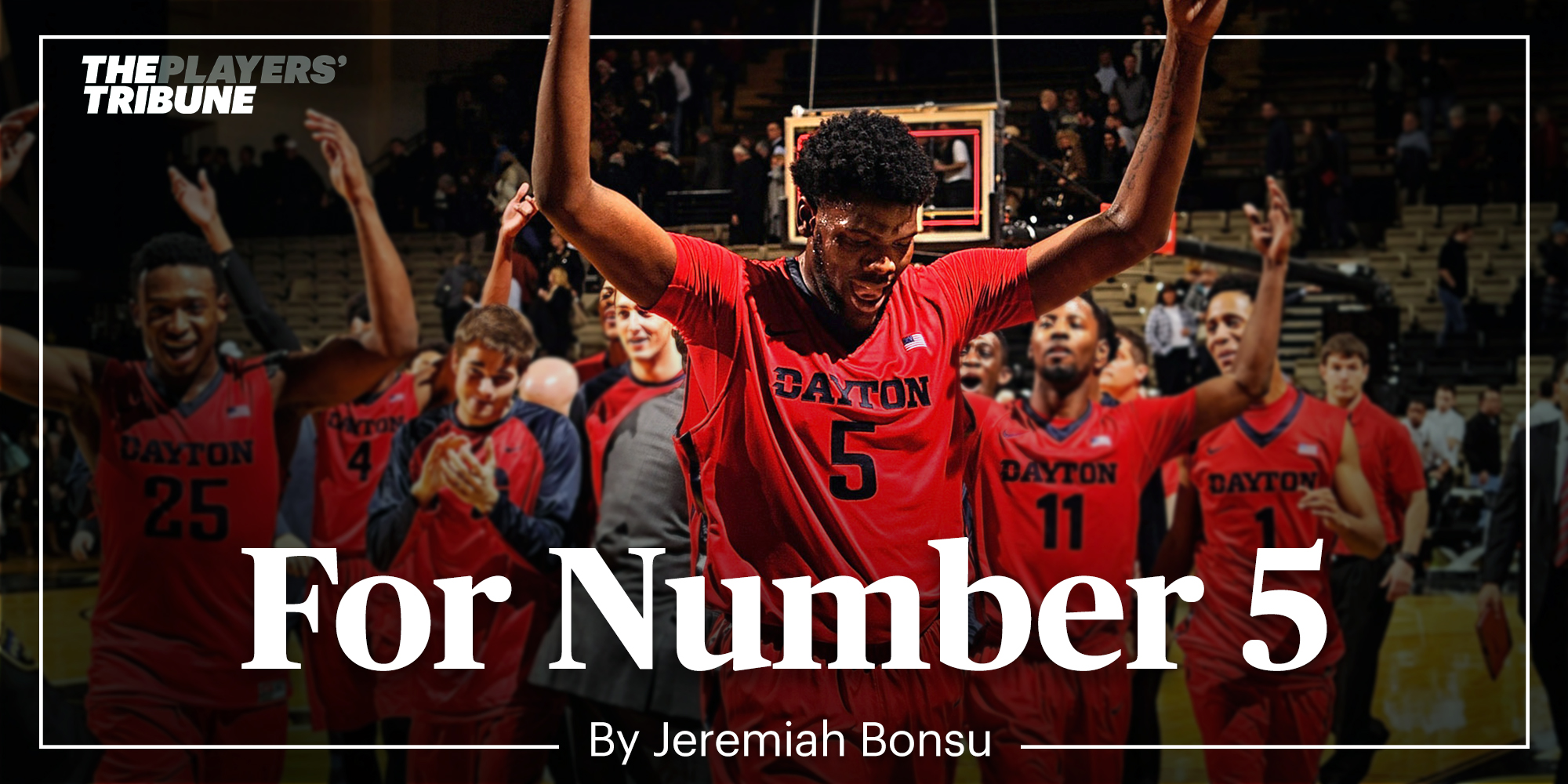 for number 5 by jeremiah bonsu