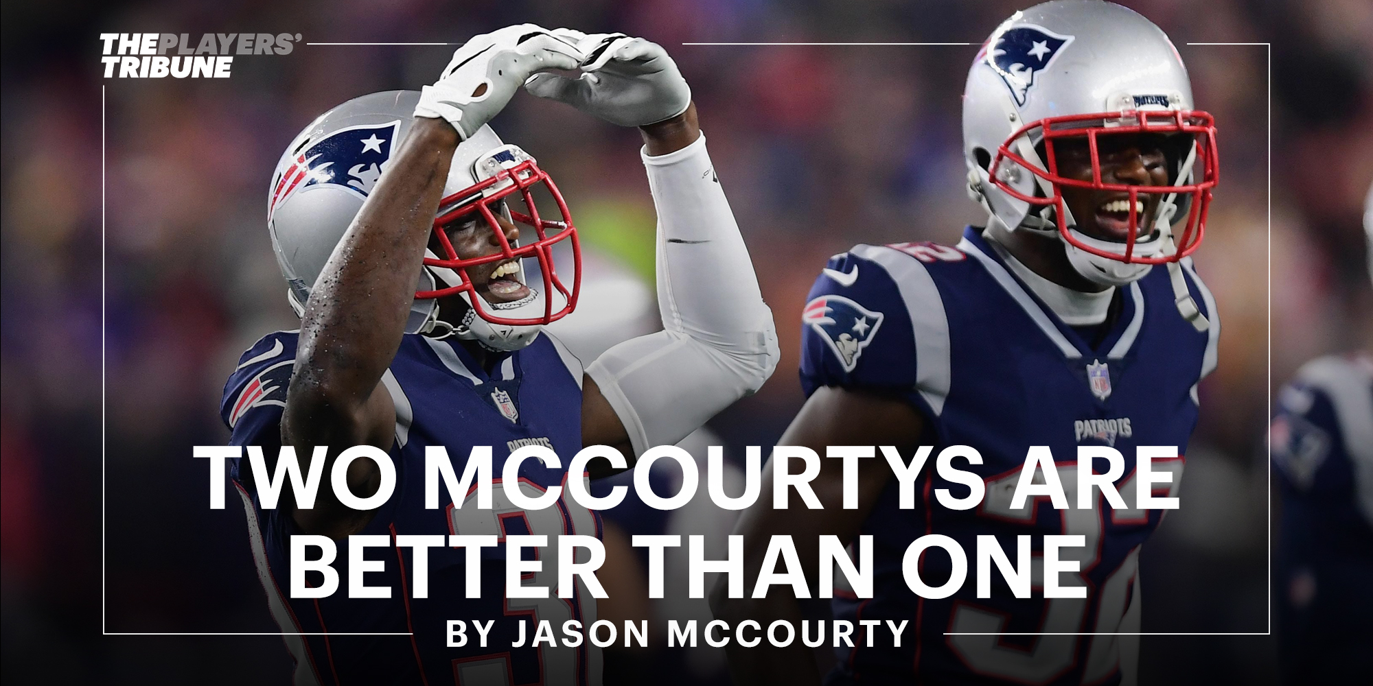 Two McCourtys Are Better Than One