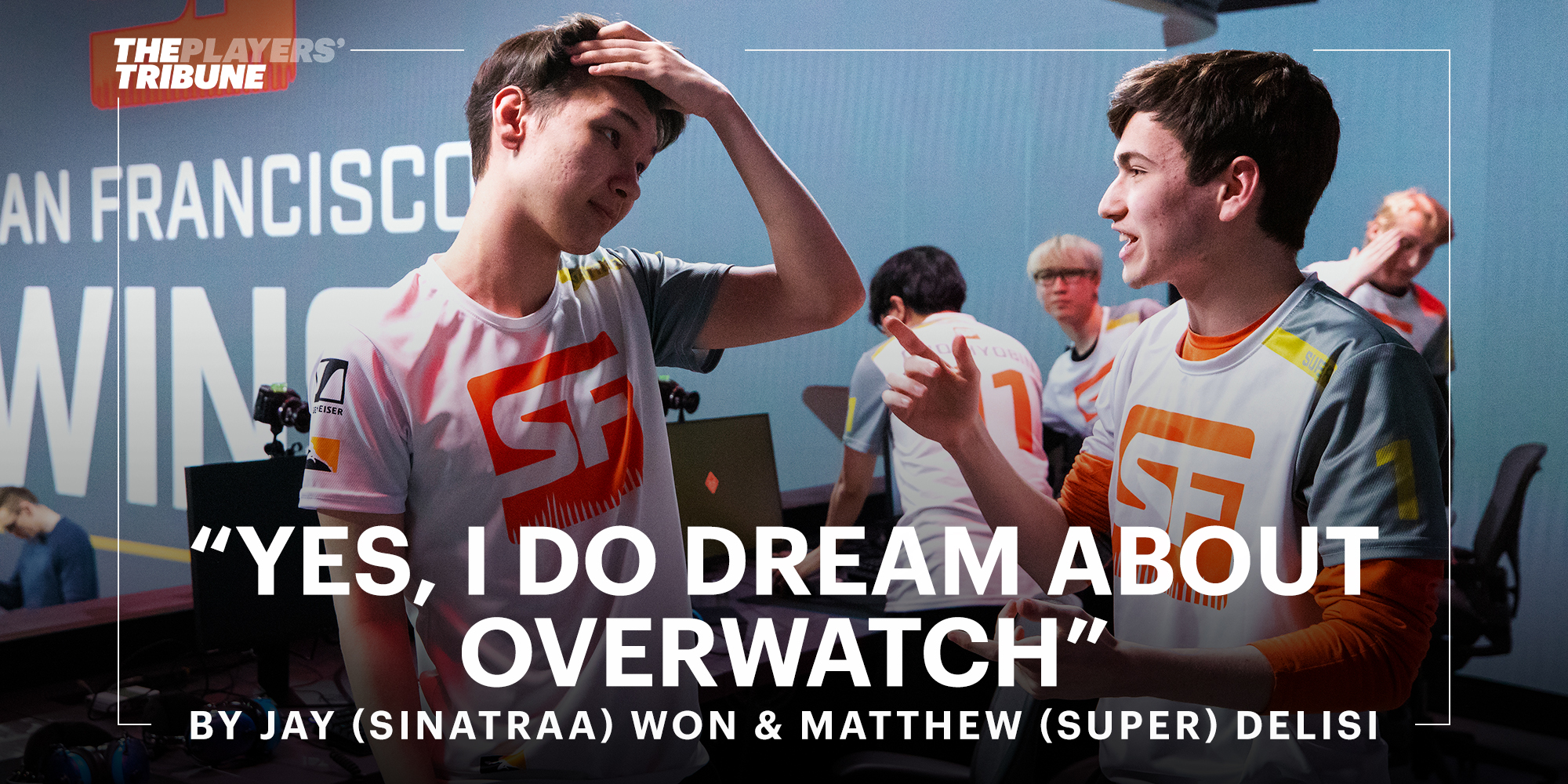 """""""Yes, I Do Dream About Overwatch"""""""
