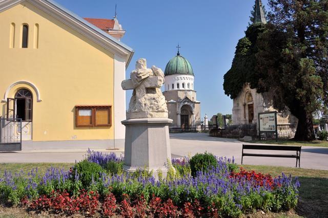 Ulaz u Katoličko groblje Dubovac