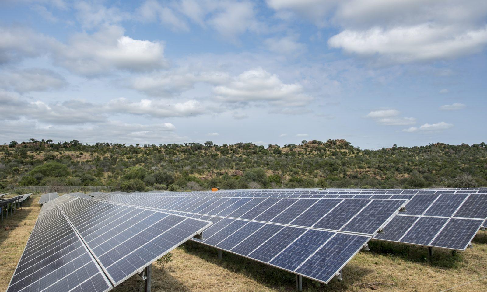 Solar Panels Singita Kruger National Park 15