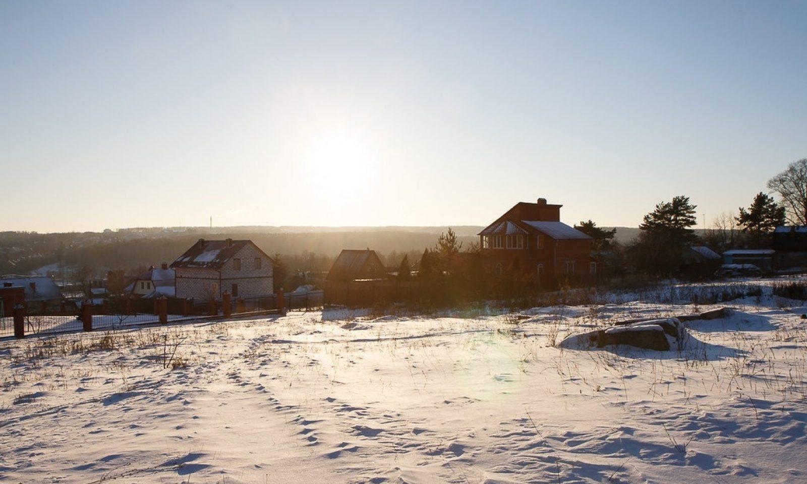 Tarusa In Snow