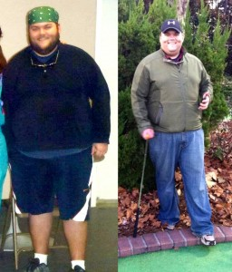 Chip Oglesby lost 100 pounds in 2012.