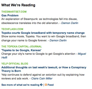 What we're reading with Publish2
