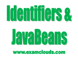 Identifiers and JavaBeans Photo