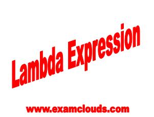 Lambda ExpressionPhoto