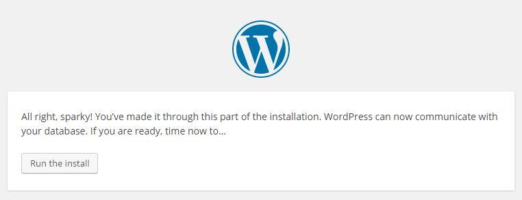 WordPress Finished