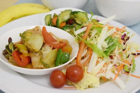 まつの幸せ野菜ランチ