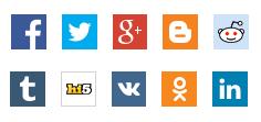 Social media platformok