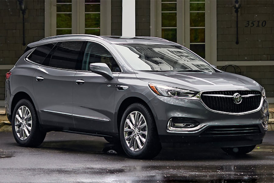 2019 Buick Enclave on the Road