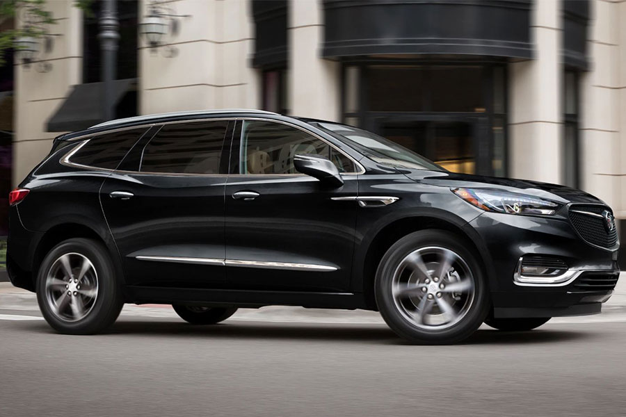 2020 Buick Enclave on the Road