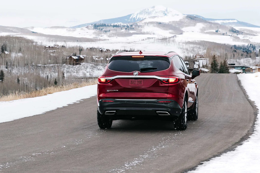 2021 Buick Enclave on the Road