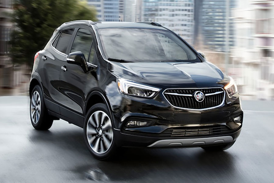 2019 Buick Encore on the Road
