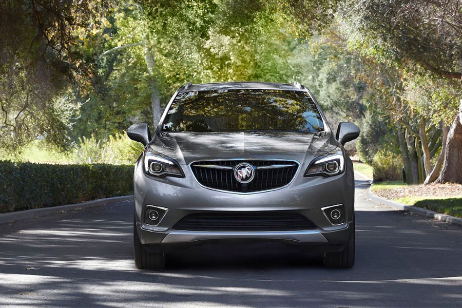 2020 Buick Envision on hte Road