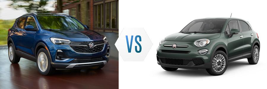 2020 Buick Encore GX vs Fiat 500X