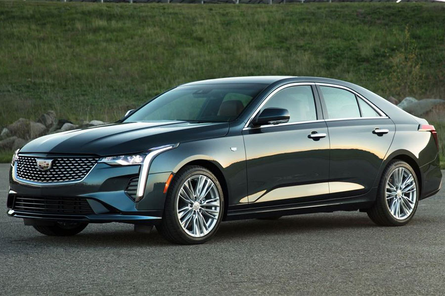 2020 Cadillac CT4 on the Road