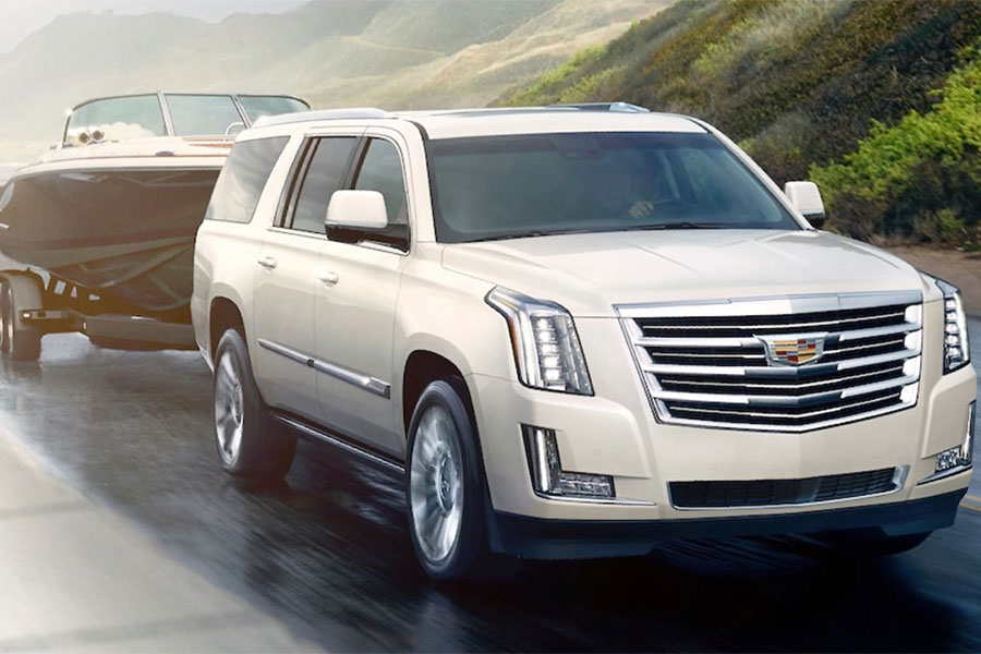 2020 Cadillac Escalade Towing