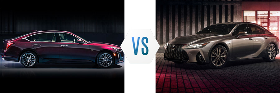 2020 Cadillac CT5 vs Lexus IS