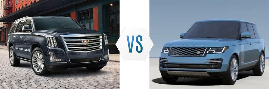 2020 Cadillac Escalade vs Land Rover Range Rover