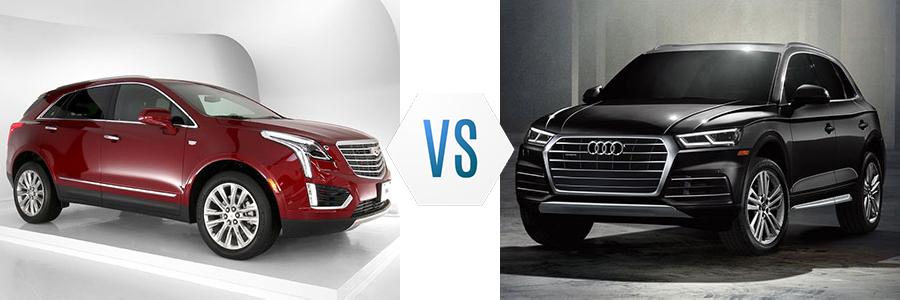 2020 Cadillac XT5 vs Audi Q5