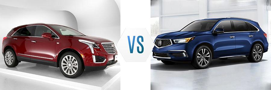2020 Cadillac XT5 vs Acura MDX