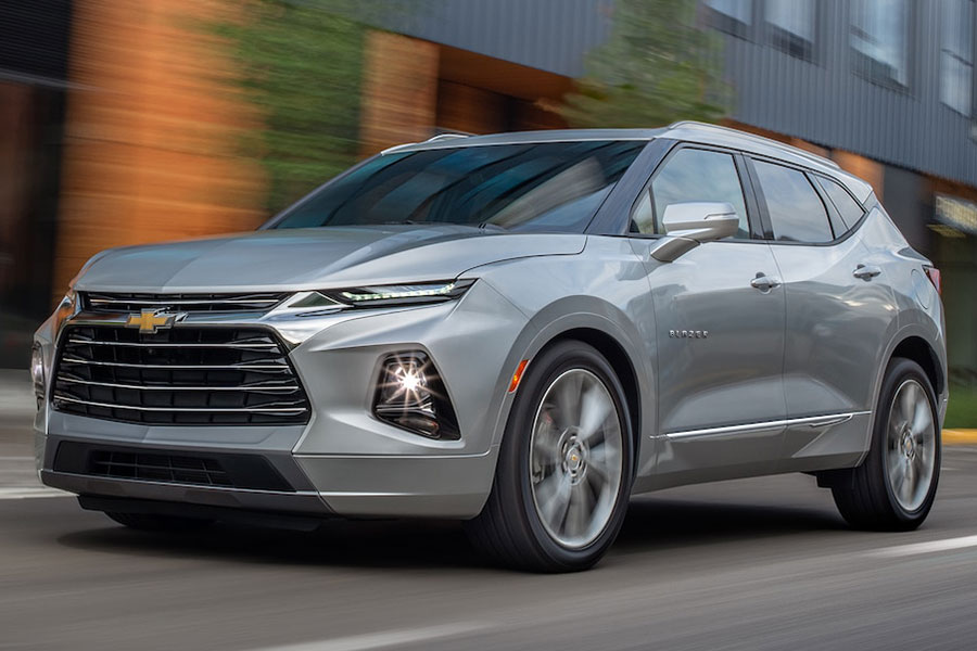 2019 Chevrolet Blazer on the Road