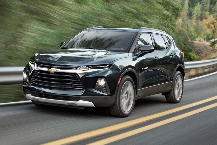 2020 Chevrolet Blazer on the Road