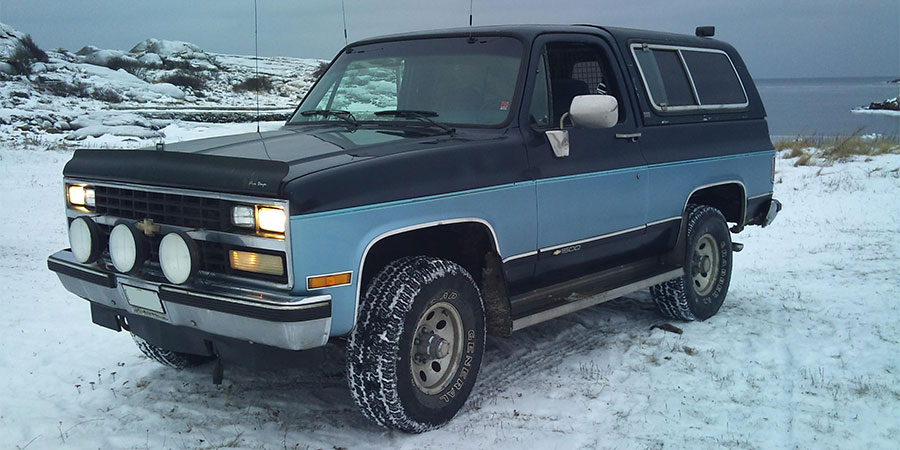 Used Chevrolet Blazer K5