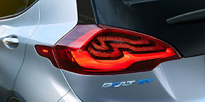 2017 Chevrolet Bolt EV Unique Taillight Design