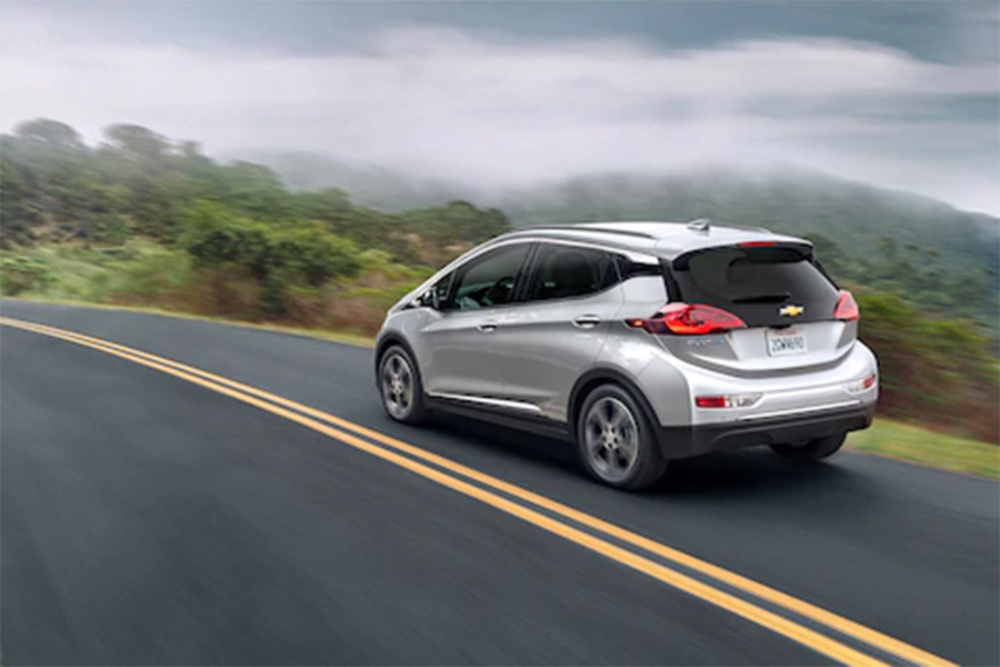 2020 Chevrolet Bolt on the Road