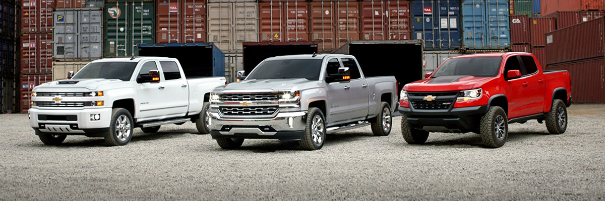 Used Chevrolet Trucks