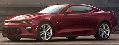 Used 2016 Chevrolet Camaro Sporty Exterior