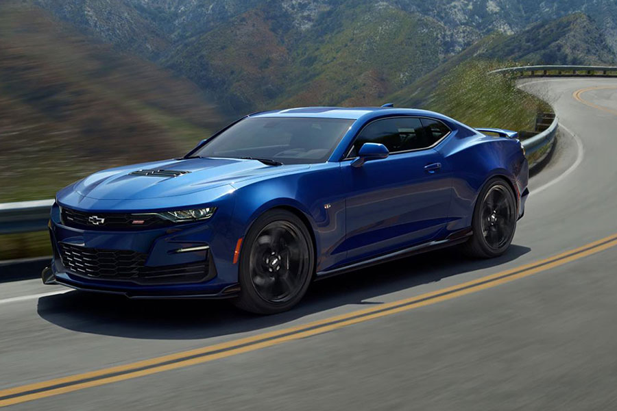 2020 Chevrolet Camaro on the Road