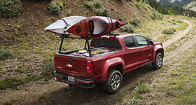 2016 Chevrolet Colorado Fuel-Efficient Power