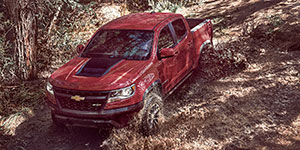 2017 Chevrolet Colorado Off-Road Capability