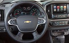 2017 Chevrolet Colorado Steering Wheel Controls
