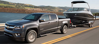 2017 Chevrolet Colorado Strong Towing Performance