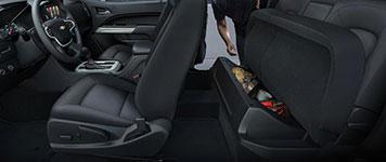 2017 Chevrolet Colorado Under Seat Storage