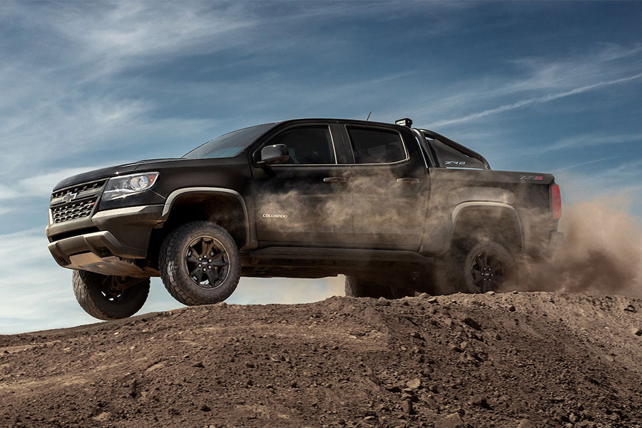 2019 Chevrolet Colorado Doing Something Tough