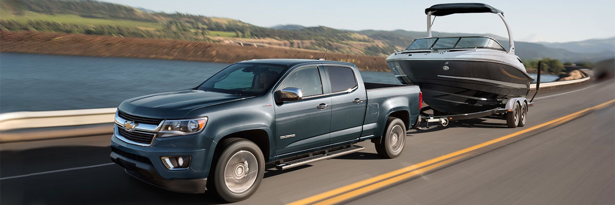 2019 Chevrolet Colorado Towing