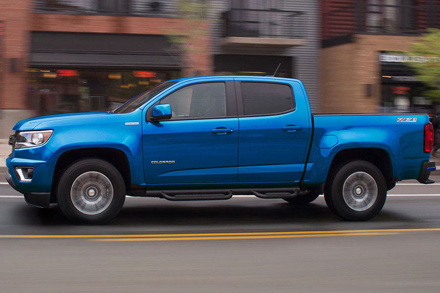 2019 Chevrolet Colorado on the Road