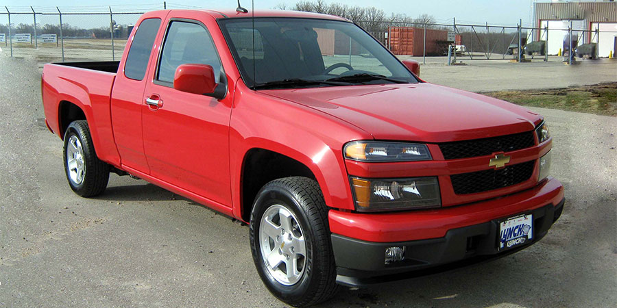 Used Chevrolet Colorado Gen 1