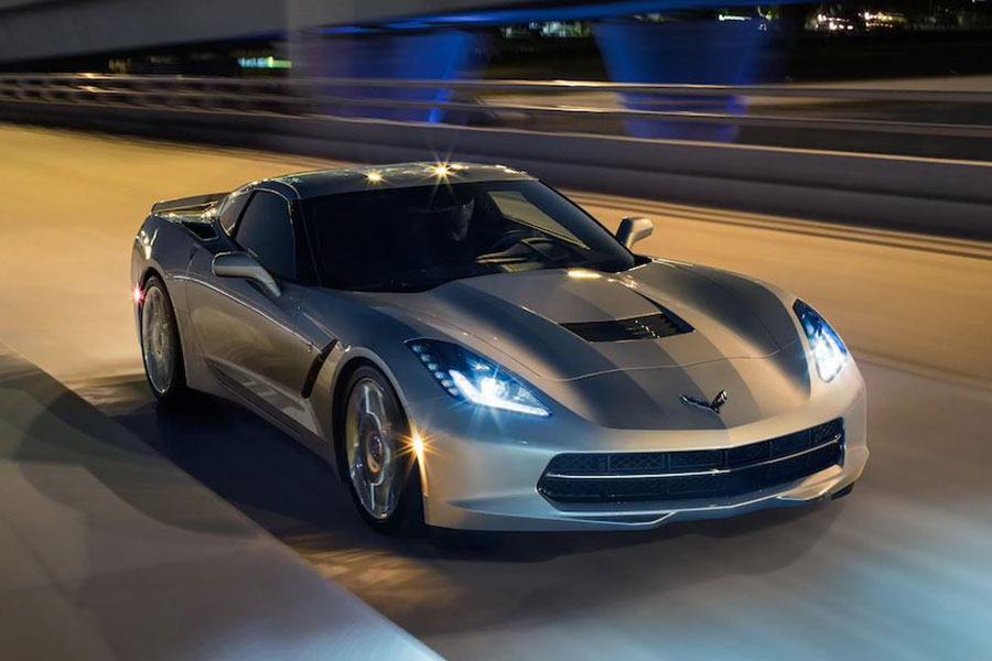 2019 Chevrolet Corvette On the Road