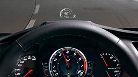 2016 Chevrolet Corvette Stingray Head-Up Display
