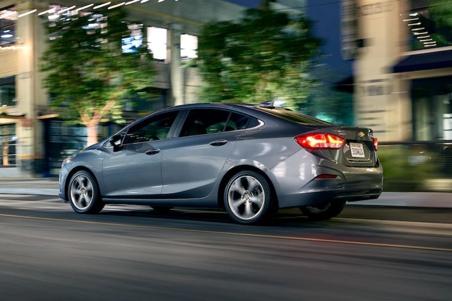2020 Chevrolet Cruze on the Road
