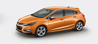 2017 Chevrolet Cruze Hatchback Forward Collision Alert