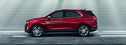 2018 Chevrolet Equinox All New Style and Size