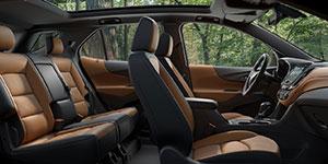 2018 Chevrolet Equinox Spacious Passenger Space