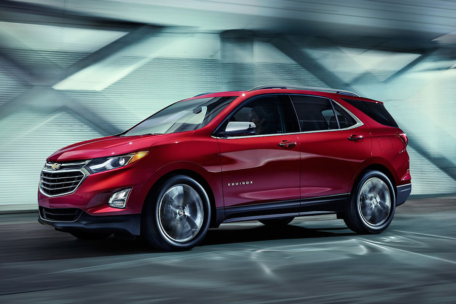 2019 Chevrolet Equinox on the Road